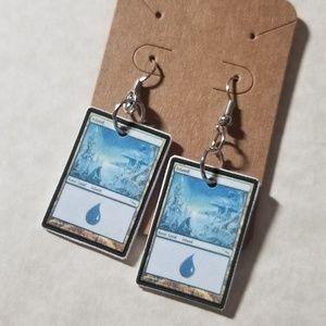 Jewelry - Blue mana earrings